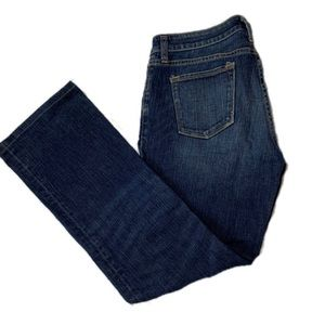 J Crew boot cut jeans size 30 S dark denim